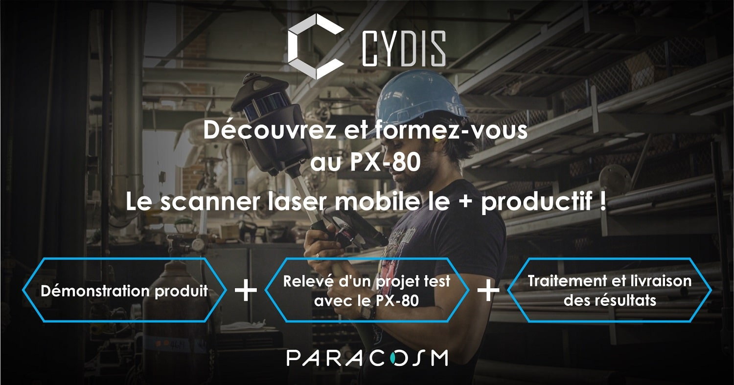 Workshop CYDIS scanner PX-80