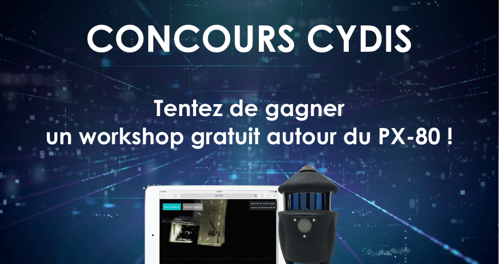 Concours CYDIS scanner PX-80