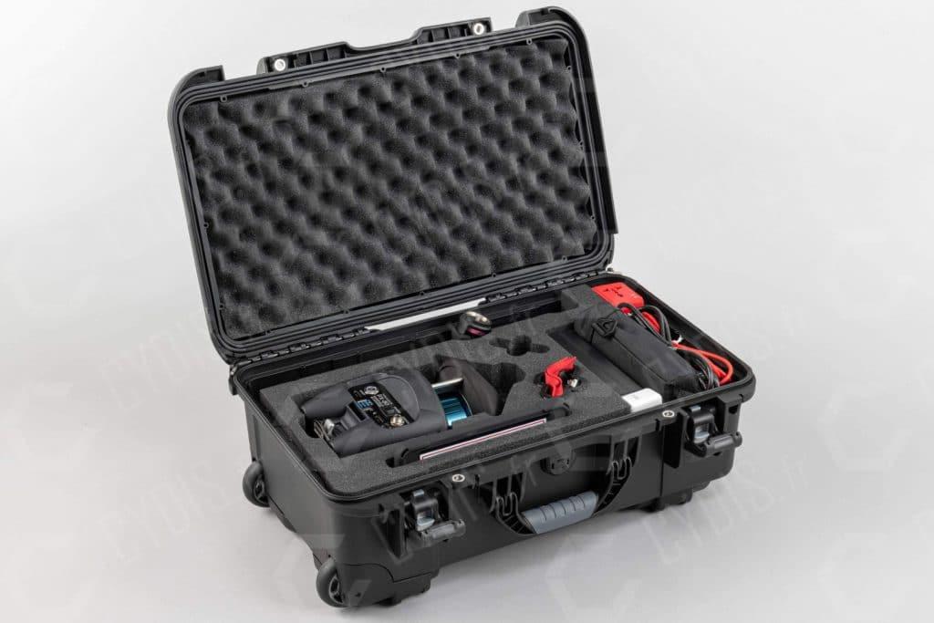 Contenu de la caisse du scanner PX-80