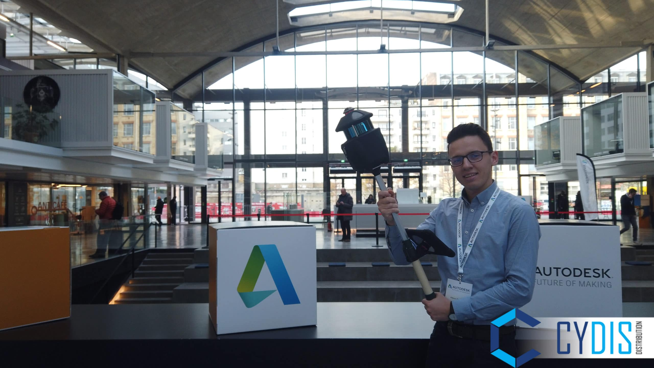 CYDIS et le PX-80 au Autodesk FOM Paris