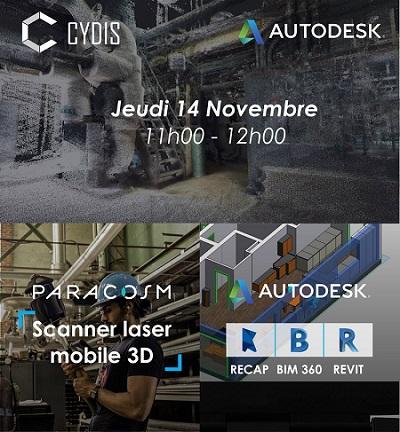 Webinar scanner mobile PX-80 CYDIS Autodesk