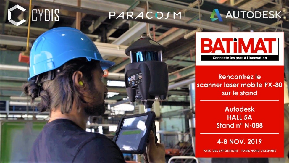 BATIMAT scanner mobile PX-80 CYDIS