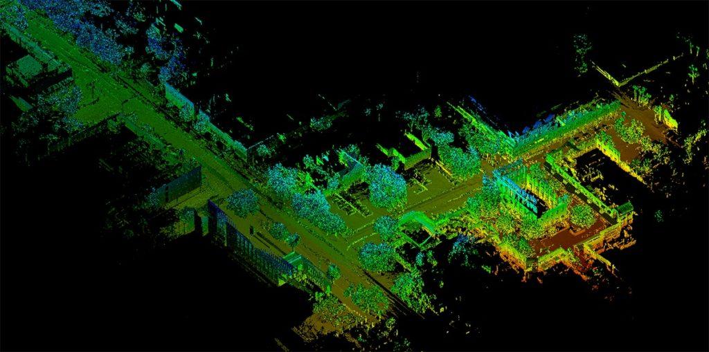 Le scanner laser mobile PX-80 est 15 fois plus rapide qu'un scanner laser terrestre