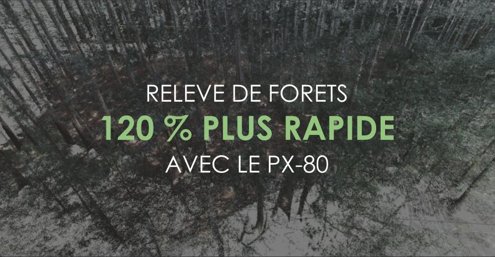 CYDIS - Le scanner laser mobile PX-80 pour le relevé de forêts