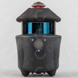 Le PX-80 est basé sur un capteur LIDAR Velodyne VLP-16