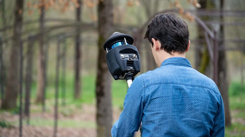 Relevé forestier avec le scanner laser mobile PX-80
